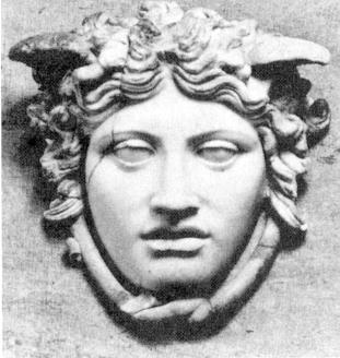 Medusa Rondanini sculpture